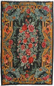 Κιλίμ Rose Moldavia Χαλι 228X356 Ανατολής Χειροποίητη Ύφανση Μαύρα/Σκούρο Πράσινο (Μαλλί, Μολδαβία)