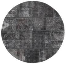 Patchwork Tapis Ø 150 Moderne Fait Main Rond (Laine, Perse/Iran)