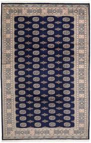 Pakistan Buchara 2Ply Teppich 201X310 Echter Orientalischer Handgeknüpfter Dunkellila/Hellgrau (Wolle, Pakistan)