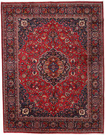 Mashad Rug 300X389 Authentic  Oriental Handknotted Dark Red/Crimson Red Large (Wool, Persia/Iran)