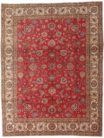 Tabriz Rug 289X382 Authentic  Oriental Handknotted Dark Red/Brown Large (Wool, Persia/Iran)