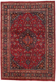 Mashad Rug 260X370 Authentic  Oriental Handknotted Dark Red/Dark Brown Large (Wool, Persia/Iran)