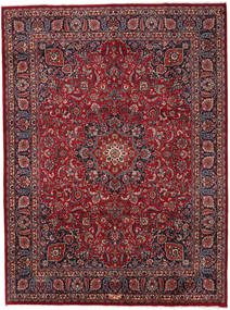 Mashad Rug 294X396 Authentic  Oriental Handknotted Dark Red/Dark Grey Large (Wool, Persia/Iran)