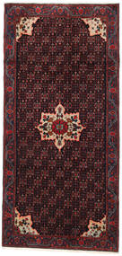 Gholtogh Rug 133X280 Authentic Oriental Handknotted Hallway Runner Dark Red (Wool, Persia/Iran)