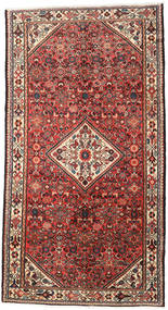 Asadabad Matto 158X291 Itämainen Käsinsolmittu Käytävämatto Ruskea/Tummanruskea (Villa, Persia/Iran)