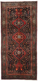 Gholtogh Rug 152X320 Authentic  Oriental Handknotted Hallway Runner  Dark Brown/Dark Red (Wool, Persia/Iran)