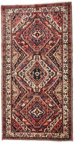 Bakhtiari Rug 162X310 Authentic  Oriental Handknotted Hallway Runner  Brown/Black (Wool, Persia/Iran)