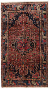 Koliai Rug 160X287 Authentic  Oriental Handknotted Hallway Runner  Dark Red (Wool, Persia/Iran)