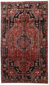 Koliai Matto 157X275 Itämainen Käsinsolmittu Tummanpunainen/Musta (Villa, Persia/Iran)
