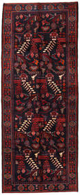 Saveh Rug 160X398 Authentic  Oriental Handknotted Hallway Runner  Dark Red (Wool, Persia/Iran)