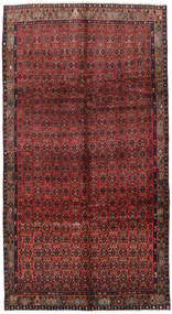 Koliai Rug 160X298 Authentic  Oriental Handknotted Hallway Runner  Dark Red/Brown (Wool, Persia/Iran)