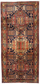 Ardebil Rug 145X308 Authentic  Oriental Handknotted Hallway Runner  Dark Red/Black (Wool, Persia/Iran)