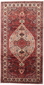 Bakhtiari Rug 163X308 Authentic Oriental Handknotted Hallway Runner Dark Red/Light Pink (Wool, Persia/Iran)