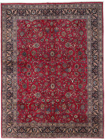 Mashad Rug 292X389 Authentic  Oriental Handknotted Dark Red/Dark Brown Large (Wool, Persia/Iran)
