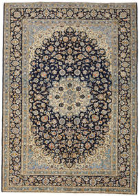 Keshan Rug 273X388 Authentic  Oriental Handknotted Dark Grey/Light Grey Large (Wool, Persia/Iran)