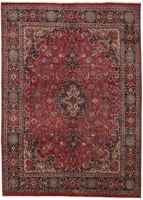 Mashad Matto 290X400 Itämainen Käsinsolmittu Tummanpunainen/Tummanharmaa Isot (Villa, Persia/Iran)
