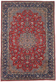 Najafabad Rug 266X391 Authentic Oriental Handknotted Dark Grey/Brown Large (Wool, Persia/Iran)