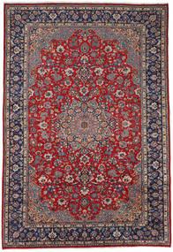 Najafabad Matto 266X391 Itämainen Käsinsolmittu Tummanharmaa/Ruskea Isot (Villa, Persia/Iran)