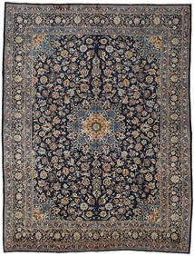 Mashad Rug 300X396 Authentic  Oriental Handknotted Dark Grey/Dark Purple/Light Brown Large (Wool, Persia/Iran)