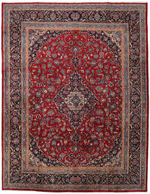 Mashad Rug 296X383 Authentic  Oriental Handknotted Dark Red/Dark Grey Large (Wool, Persia/Iran)