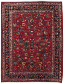 Mashad Rug 257X334 Authentic  Oriental Handknotted Dark Red/Purple Large (Wool, Persia/Iran)
