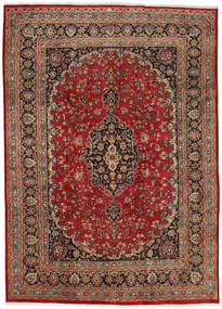 Mashad Rug 237X333 Authentic  Oriental Handknotted Dark Red/Dark Brown (Wool, Persia/Iran)