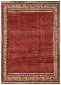 Sarough Mir Teppich  252X347 Echter Orientalischer Handgeknüpfter Dunkelrot/Rost/Rot Großer (Wolle, Persien/Iran)