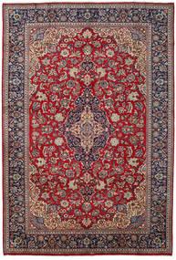 Hamadan Matto 270X387 Itämainen Käsinsolmittu Ruskea/Tummanvioletti Isot (Villa, Persia/Iran)
