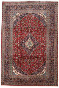 Keshan Rug 242X358 Authentic  Oriental Handknotted Dark Brown/Brown (Wool, Persia/Iran)