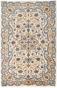 Keshan Koberec 232X354 Orientální Ručně Tkaný Béžová/Světle Hnědá (Vlna, Persie/Írán)