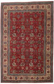 Tabriz Matto 238X360 Itämainen Käsinsolmittu Tummanpunainen/Ruskea (Villa, Persia/Iran)