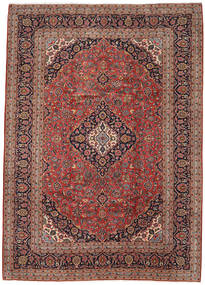 Keshan Rug 247X345 Authentic  Oriental Handknotted Dark Red/Dark Brown (Wool, Persia/Iran)