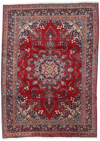 Mashad Rug 248X344 Authentic  Oriental Handknotted Dark Red/Dark Purple (Wool, Persia/Iran)