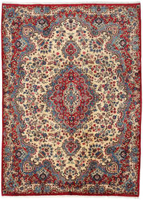 Mashad Rug 249X339 Authentic  Oriental Handknotted Brown/Dark Blue (Wool, Persia/Iran)