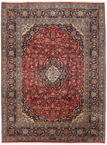 Keshan Matta 251X338 Äkta Orientalisk Handknuten Brun/Mörkblå Stor (Ull, Persien/Iran)