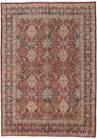 Sarough Matto 272X384 Itämainen Käsinsolmittu Vaaleanruskea/Ruskea Isot (Villa, Persia/Iran)