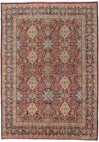 Sarough Teppe 272X384 Ekte Orientalsk Håndknyttet Lysbrun/Brun Stort (Ull, Persia/Iran)