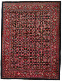 Sarouk Rug 297X388 Authentic  Oriental Handknotted Dark Red/Black Large (Wool, Persia/Iran)