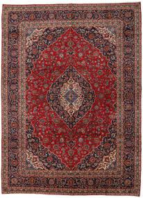 Keshan Matto 300X410 Itämainen Käsinsolmittu Tummanpunainen/Ruskea Isot (Villa, Persia/Iran)