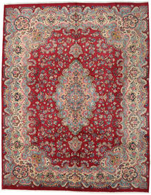 Mashad Rug 294X374 Authentic Oriental Handknotted Crimson Red/Light Brown Large (Wool, Persia/Iran)