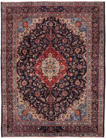 Mashad Rug 294X384 Authentic  Oriental Handknotted Dark Purple/Dark Red Large (Wool, Persia/Iran)