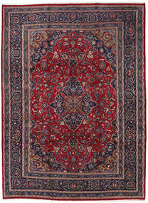 Keshan Rug 240X332 Authentic  Oriental Handknotted Black/Brown (Wool, Persia/Iran)