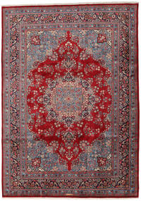 Mashad Rug 243X341 Authentic  Oriental Handknotted Dark Brown/Dark Red (Wool, Persia/Iran)