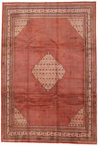 Sarough Mir Vloerkleed 240X359 Echt Oosters Handgeknoopt Bruin/Donkerrood (Wol, Perzië/Iran)