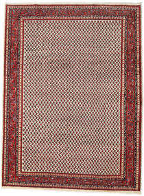Sarouk Mir Rug 241X324 Authentic  Oriental Handknotted Brown/Dark Brown (Wool, Persia/Iran)
