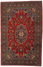Wiss Rug 225X341 Authentic  Oriental Handknotted Dark Red/Rust Red (Wool, Persia/Iran)