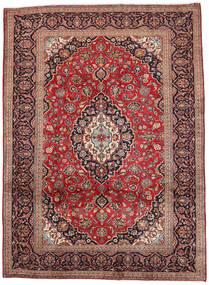 Kashan Szőnyeg 250X340 Keleti Csomózású Barna/Sötétpiros Nagy (Gyapjú, Perzsia/Irán)
