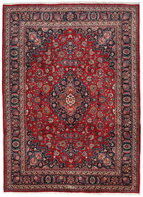 Mashad Χαλι 252X345 Ανατολής Χειροποιητο Kόκκινα/Καφέ Μεγαλα (Μαλλί, Περσικά/Ιρανικά)