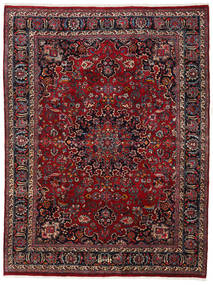 Mashad Rug 243X321 Authentic  Oriental Handknotted Dark Red/Black (Wool, Persia/Iran)