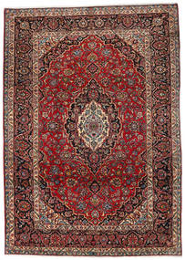 Mashad Rug 253X356 Authentic  Oriental Handknotted Dark Red/Brown Large (Wool, Persia/Iran)